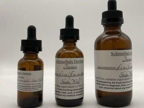 Blue Lotus, N. caerulea,Tincture 2:1 organic, 2X STRENGTH ~ Schmerbals Herbals