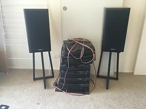 Key wood surround sound stereo system Lilydale Yarra Ranges Preview