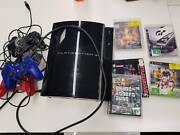 PS3 console, controllers and games (broken) St Peters Marrickville Area Preview