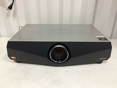 Sony VPL-FW41 3LCD projector HDMI 1477 Lamp Hours