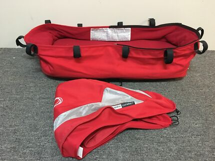 Bugaboo Cameleon red bassinet fabric and hood
