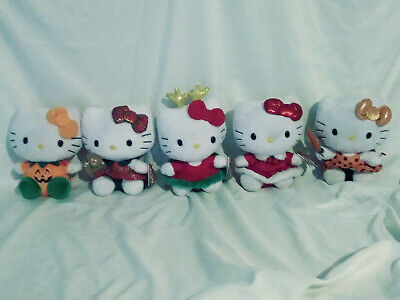 5 Holiday Hello Kitty beanie babies Christmas - Hello Kitty Beanie Babies Halloween