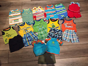 Baby boy summer outfit - 3 mois