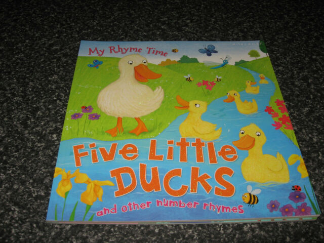 FIVE LITTLE DUCKS AND OTHER NUMBER RHYMES BY MILES  KELLY SOFTCOVER B/NEWEW