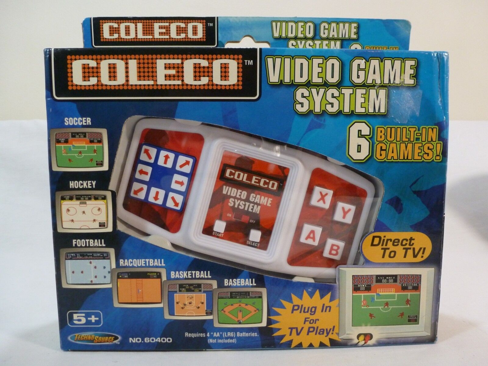 COLECO Video Game System/6 Games