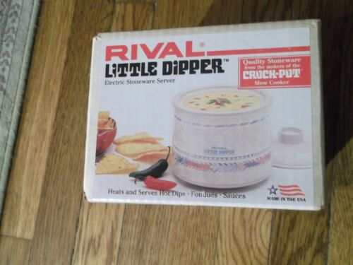 Rival Little Dipper Electric Stoneware Server 3204 NIB