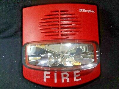 Simplex 4903-9418 Fire Alarm Horn Strobe Lights Free Shipping