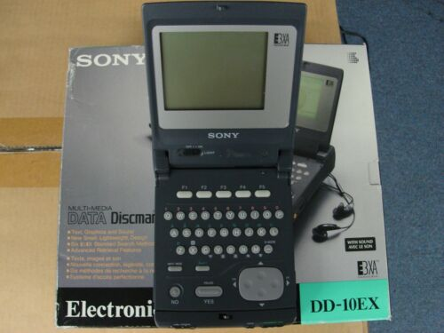 Sony DD-10EX Electronic Book Player Vintage