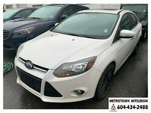 2014 Ford Focus Titanium; Local & No accidents! FULLY LOADED!