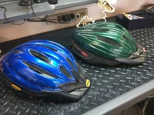 3 bike helmets - $10 each