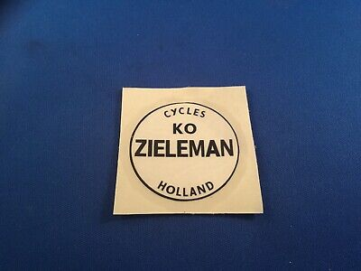 Transfer Decals 07308 Zieleman Bicycle Head Badge Stickers