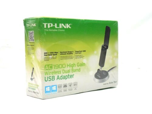 TP-LINK AC1900 Dual Band High Gain Wireless USB WIFI Adapter