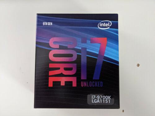 Intel Core i7-9700K 3.6 GHz 8-Core LGA 1151 Processor BX80684I79700K