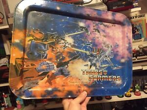 Transformers 1984 TV tray 80$ or best offer