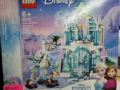 LEGO 43172 Frozen Elsa's Magical Ice Palace - Pack of 701 BOX DISTRESSED &OPEN