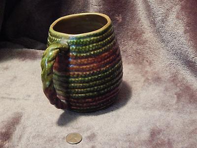 Coil Mug - Vtg. LEFTON Pottery JAPAN) Coffee Mug)