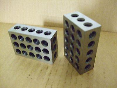 Atlas Lathe Milling Machine Drill Press Tool Makers 1-2-3 Blocks