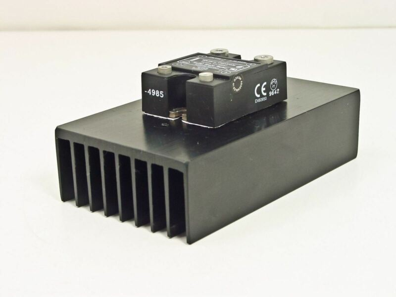 Watlow SSR-240-40A-DC1 40Amp Solid State Relay w/SSR Heasink 120/240VAC 3~32V DC