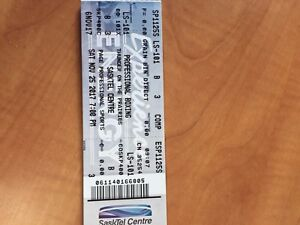 4 tickets  to professional Boxing in a SUITE