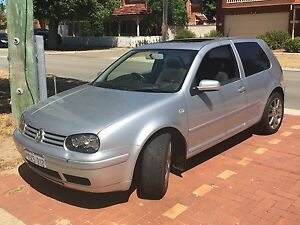 2001 Volkswagen Golf Sports Coupe with sunroof Inglewood Stirling Area Preview