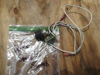 Solar 2150 Wire Feed Mig Welder Wire Speed Switch..