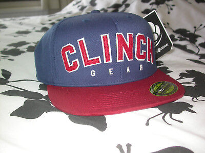 CLINCH GEAR BASEBALL CAP HAT FITTED XL . MMA BJJ BOXING GYM UFC KSW CROSSFIT NEW