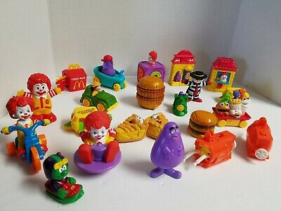Vintage McDonald's Changeables Transformers Happy Meal Toys From The 80's/90's