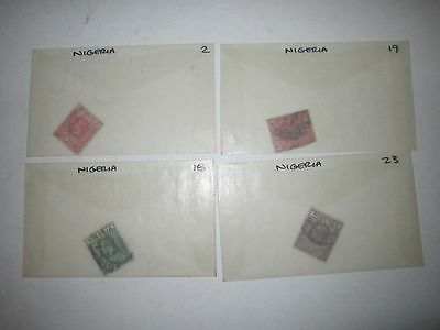 EARLY NIGERIA STAMPS - SC# 2 - 107 - MINT & USED  - BB-2