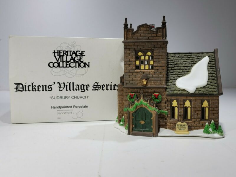 Dept 56 ~ Sudbury Church (58322) - Dickens Village