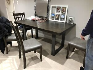 Modern Dining Table With 4 Chairs