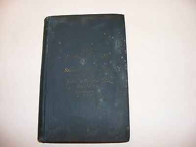 1890 Manual Of Investments    Southern Investment Securities   Extremely Rare