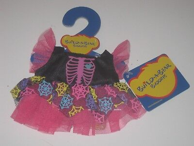 Build-A-Bear SMALLFRYS HALLOWEEN SKELETON WITCH DRESS Outfit Buddies](Build A Skeleton)