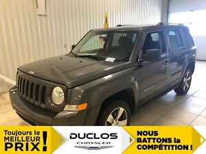 2017 Jeep Patriot High Altitude*BANCS CUIR CHAUFF*TOIT*MAGS 17*F