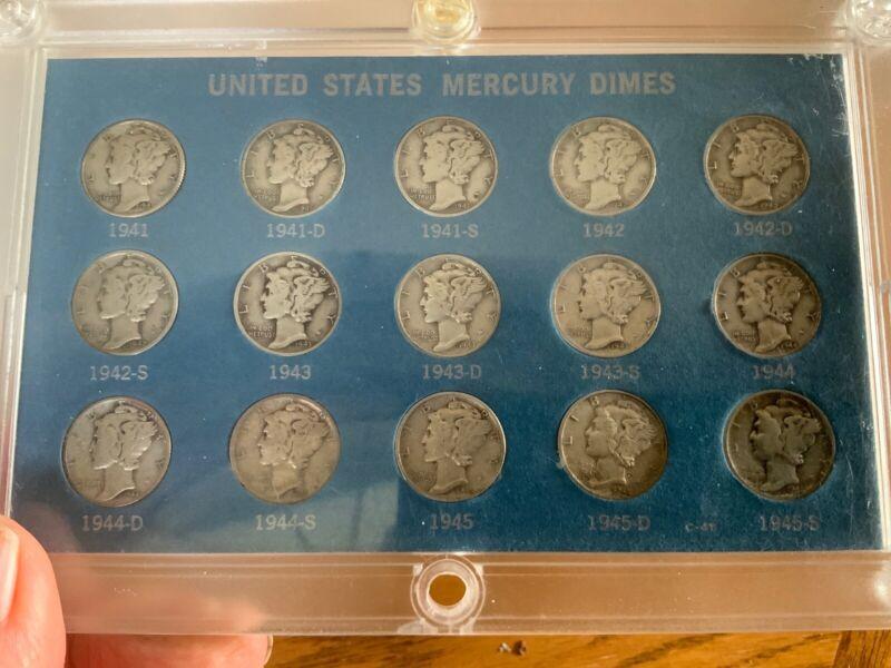 mercury dimes World War 2