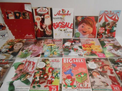 Annalee Doll Catalogs Lot