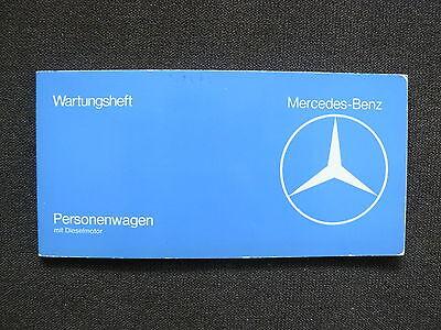 Mercedes-Benz Personenwagen Typ 123 D - Wartungsheft 03.1977