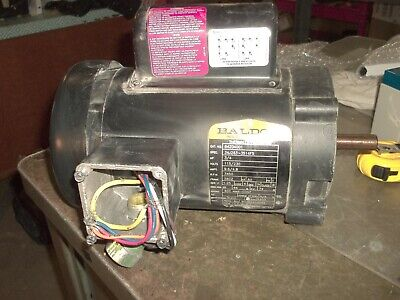 Baldor 84z04001 34hp Motor 56cz Frame 3450 Rpm 34j263-3514f5 115230v L4