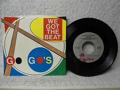 The Go Gos 45 PS We Got The Beat NM Near Mint 1981 Orig! Belinda