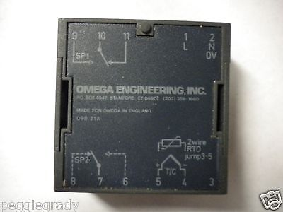 Omega Engineering 098 .21a 094060 2 Wire Rtd Jump 3-5