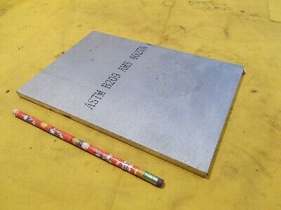 6061 Aluminum Flat Stock Tool Die Bar Sheet Plate 38 X 6 14 X 9 38 Oal