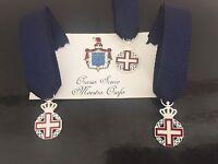 Miniatura commemorativa del bicentenerio dell/'Ordine Militare di Casa Savoia
