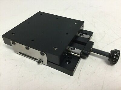 Iko Crw3-100 Crossed Roller Bearing Linear Slide Table Travel 38mm 1.14mmrev