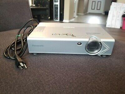 Panasonic PT-LB20SU LCD Portable Projector 2000 ANSI HD 1080i
