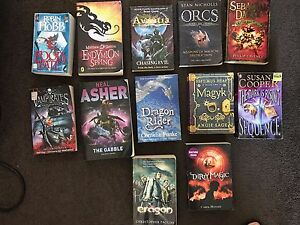 12 x preteen/teen books - assorted Stirling Stirling Area Preview