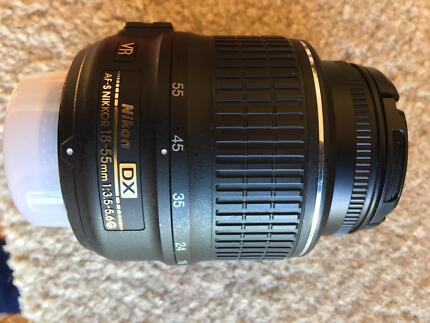 Nikon 18-55mm DSLR Lens