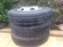 Mitsubishi fuso import bus tyre and rims Champion Lakes Armadale Area Preview