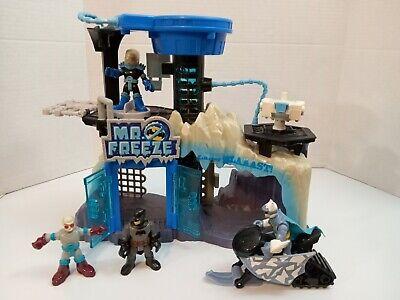 Imaginext DC Super Friends Mr. Freeze Playset Headquarters Arctic Fortress
