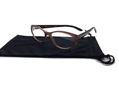 TOM FORD TF 5244 047 LIGHT BROWN Eyeglasses Glasses 54-16-135 (Tom Ford Prescription Glasses Womens)