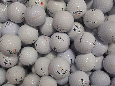 25 CALLAWAY MIXED GOLF LAKE BALLS GRADE A / GRADE B FREE DELIVERY