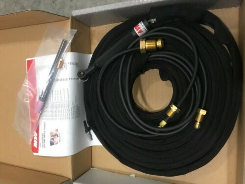 """Masterweld WP20-25 """"TIGMASTER"""" Torch Water-Cooled 250AMP - Made in USA"""